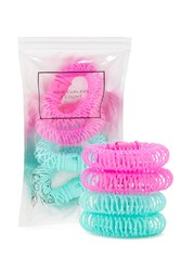 Forever 21 Spiral Hair Curlers Pink Teal