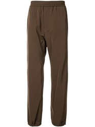 Undercover Elasticated Waist Trousers Brown