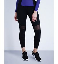 Michi Ballistic Cropped Leggings Black