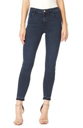 Sanctuary Women's Robbie High Rise Frayed Hem Skinny Jeans