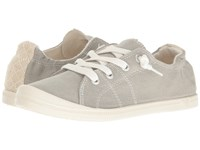 Roxy Rory Grey Women's Lace Up Casual Shoes Gray