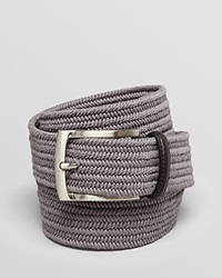 The Men's Store At Bloomingdale's Stretch Braided Belt Dark Grey