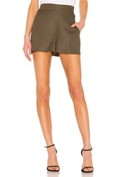 Bcbgeneration Pull On Short Olive