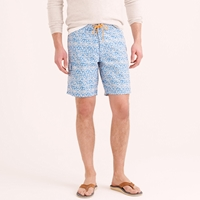 J.Crew 9' Board Short In Batik Floral
