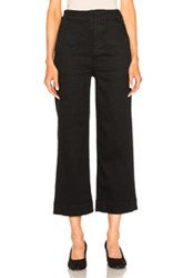 Mother Cinch Greaser Pant In Black