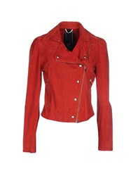 Nolita Coats And Jackets Jackets Women Red