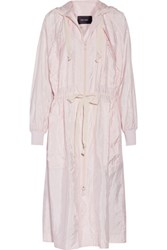 Isabel Marant Kelby Shell Hooded Coat Pastel Pink