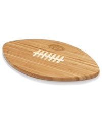 Picnic Time New York Jets Ball Shaped Cutting Board Burlywood