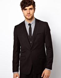 Vito Suit Jacket In Black