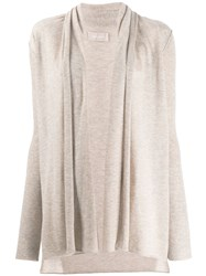 Zadig And Voltaire Open Front Cardigan Neutrals