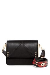 Steve Madden Scout Faux Leather Crossbody Black