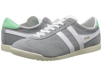 Gola Bullet Suede Grey White Women's Shoes Gray