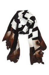 Moschino Women's 'Burn' Logo Silk Scarf