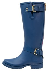 Colors Of California Wellies Navy Dark Blue