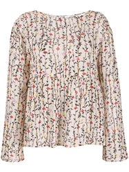 Semicouture Floral Print Blouse 60