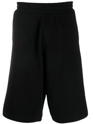 Mcq By Alexander Mcqueen Logo Patch Track Shorts Black