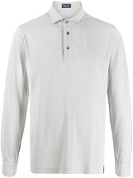 Drumohr Long Sleeve Polo Shirt 60