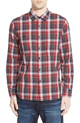 Howe 'Williamsburg' Long Sleeve Flannel Shirt Port 1965