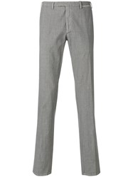 Dell'oglio Tailored Tapered Trousers Grey