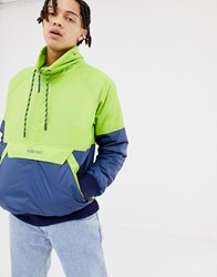 Marmot Lynx Insulated Anorak In Green Navy