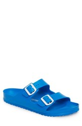 Birkenstock 'Essentials Arizona Eva' Waterproof Slide Sandal Blue