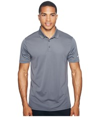 Nike Victory Solid Polo Dark Grey White Men's Short Sleeve Pullover Gray