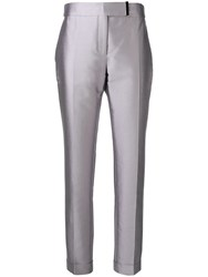 Tom Ford High Rise Straight Trousers Grey