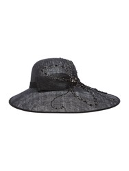 Biba Kadie Limited Edition Black Beaded Hat Black
