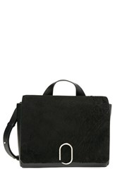 3.1 Phillip Lim 'Alix' Distressed Suede And Leather Messenger Bag
