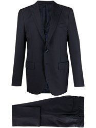 Dell'oglio Single Breasted Two Piece Suit 60