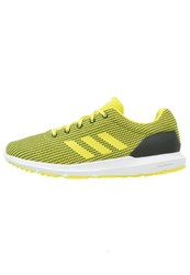 Adidas Performance Cosmic Cushioned Running Shoes Core Black Shock Slime White
