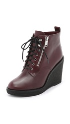 Marc By Marc Jacobs Kit Wedge Booties Musk Brown