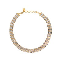 Ca And Lou Starlite Crystal Embellished Necklace Gold