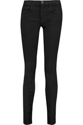 Proenza Schouler Mid Rise Skinny Jeans Black