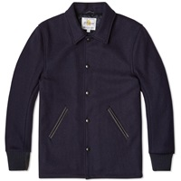 Golden Bear Sportswear Wool Coach Jacket Navy