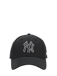 New Era Mlb Twine 9Forty Techno Baseball Hat Black