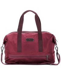 Adidas By Stella Mccartney Medium Gym Bag Red