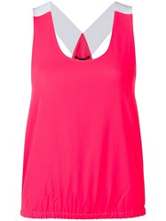 Armani Exchange Flamingos Tank Top Pink