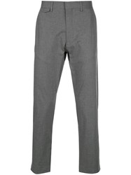 Closed Atelier Cropped Trousers Grey