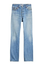 Re Done High Rise Bootcut Jeans