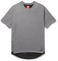 Nike Hell Trimmed Jerey T Hirt Gray