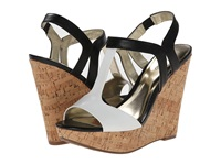 Carlos By Carlos Santana Bondi Black White Women's Wedge Shoes