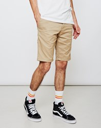 Carhartt Wip Sid Short Leather Rinsed Sand