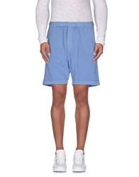 Dsquared2 Trousers Bermuda Shorts Men Pastel Blue