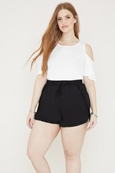 Forever 21 Plus Size Dolphin Shorts Black