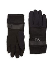 Y 3 Zip Gloves Black