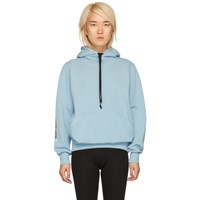 Alyx Blue Patch Hoodie