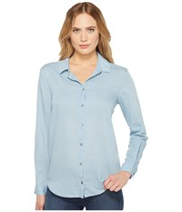 Ag Adriano Goldschmied Nola Top Saltwater Women's Clothing Blue