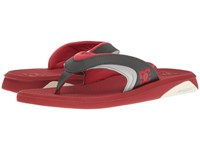 Dc Recoil By Bruce Irons Red Grey Men's Sandals Gray