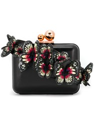 Sophia Webster Metal Detail Clutch Bag Black